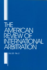 The American Review of International Arbitration