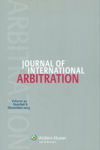 Journal of International Arbitration