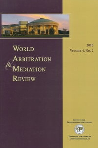 World Arbitration & Mediation Review