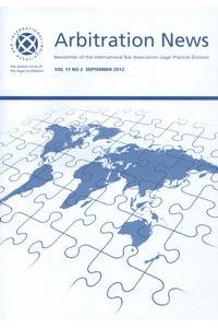 IBA Arbitration News