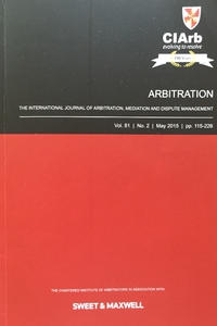 The International Journal of Arbitration, Mediation and Dispute Management