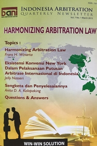 Indonesia Arbitration – Newsletter