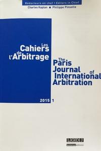 Les Cahiers de l'Arbitrage