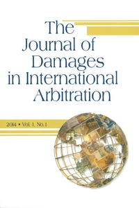 The Journal of Damages in International Arbitration