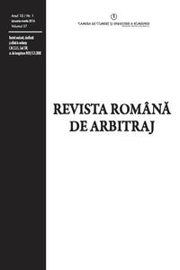 Revista Română de Arbitraj